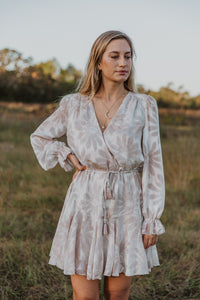 Dubois Floral Beige Dress