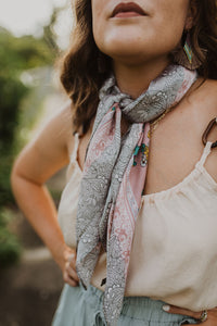 Floral Print Scarf (Multiple Colors)