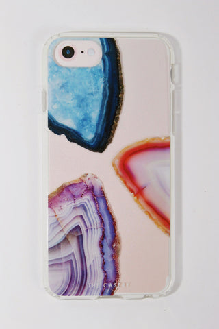 Triple Agate iPhone Case