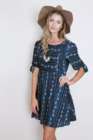 Karinya Print Dress