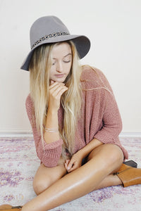 Tribal Wool Hat