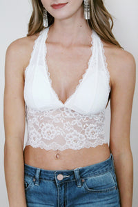 Brami Lace Halter (Multiple Colors)