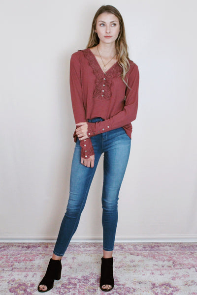Rimini Rose Top