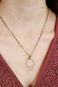 Fluorite Point Necklace