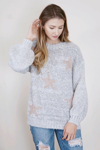 Thick Star Sweater