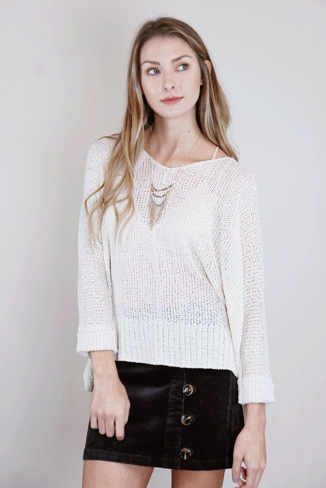 Avri Knit Sweater (Multiple Colors)