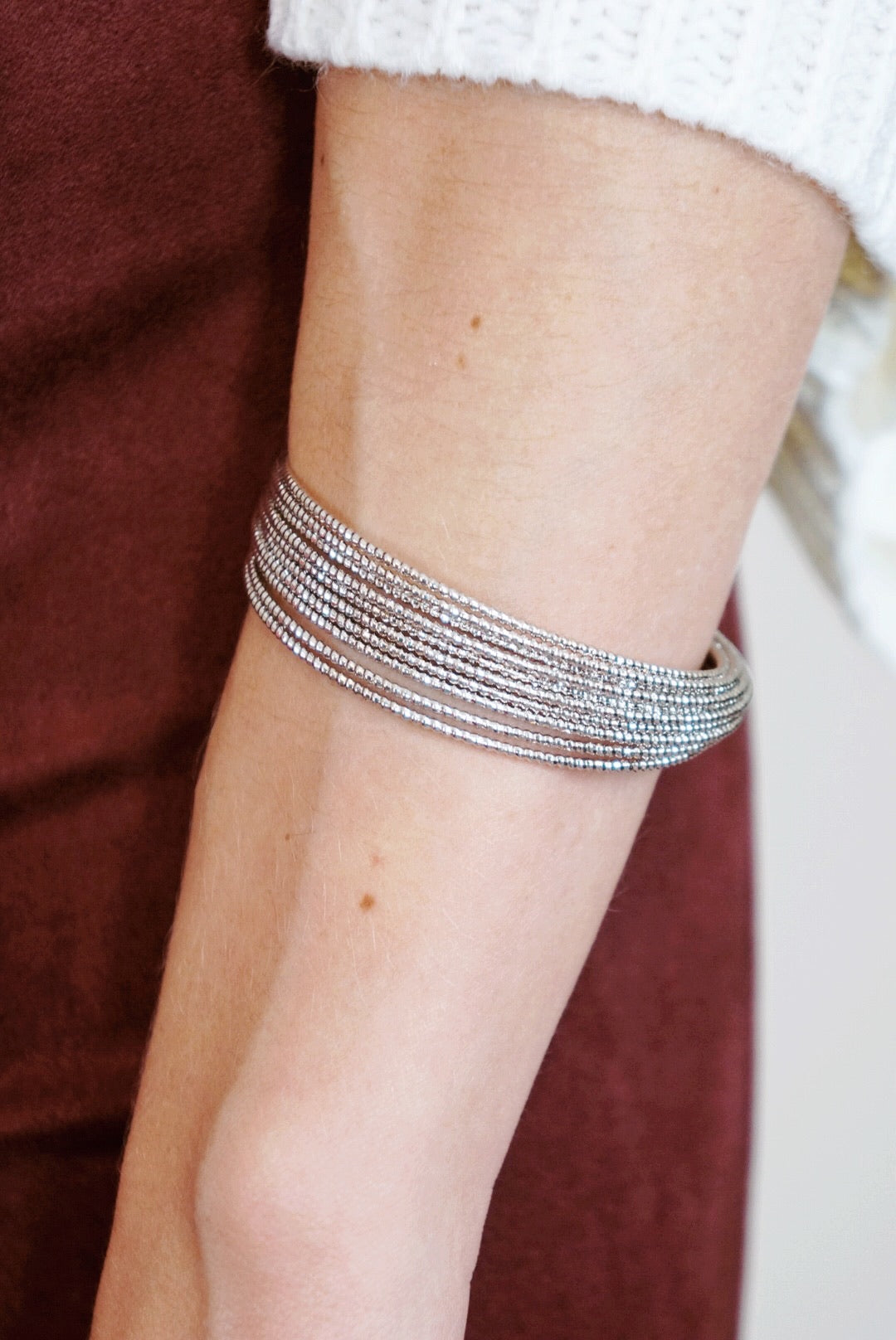 Textured Shiny Cuff