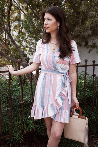Havana Stripe Dress