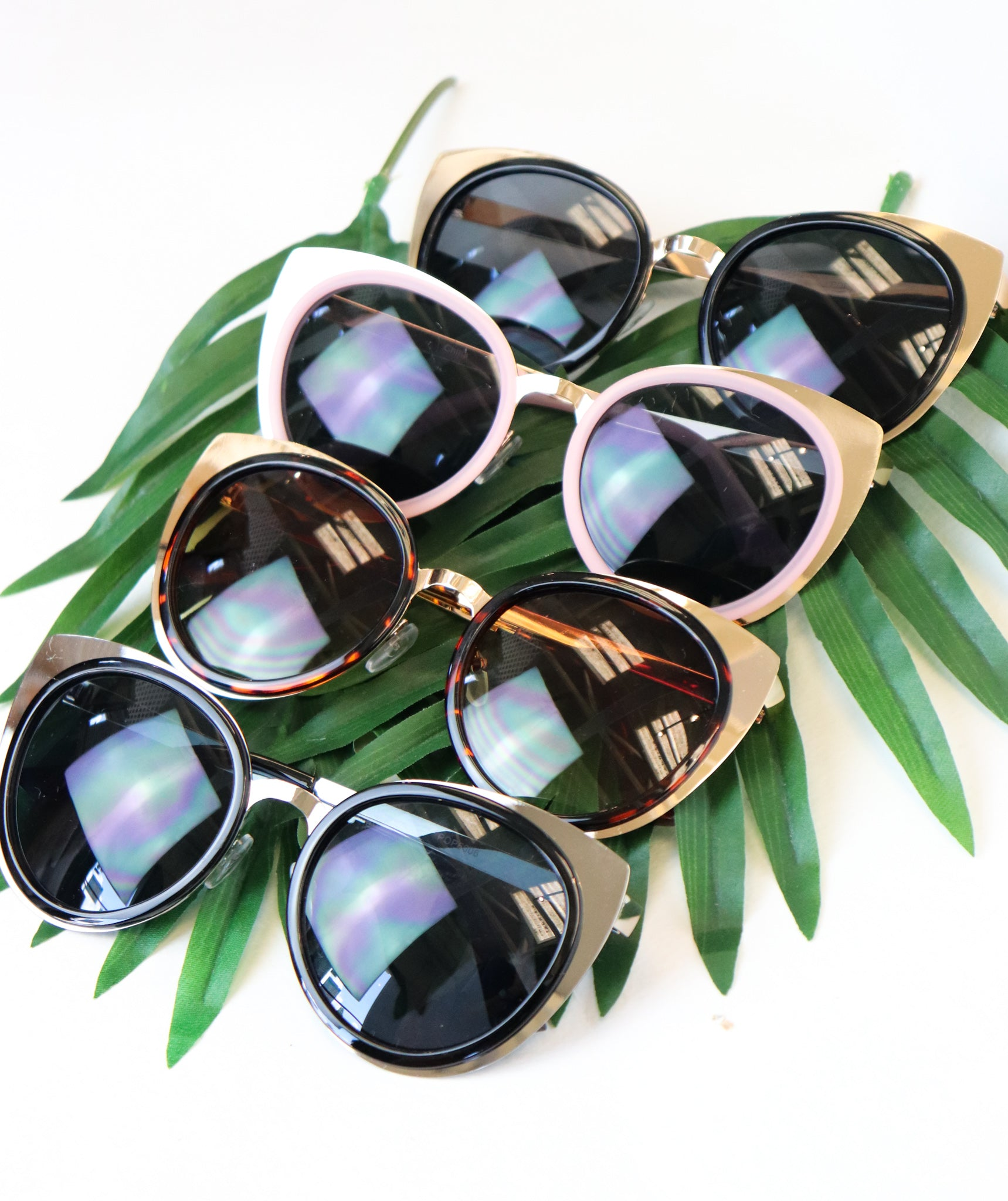 Cat Eye Sunglasses (Multiple Colors)