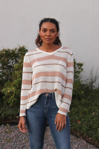 Marleigh Striped Sweater