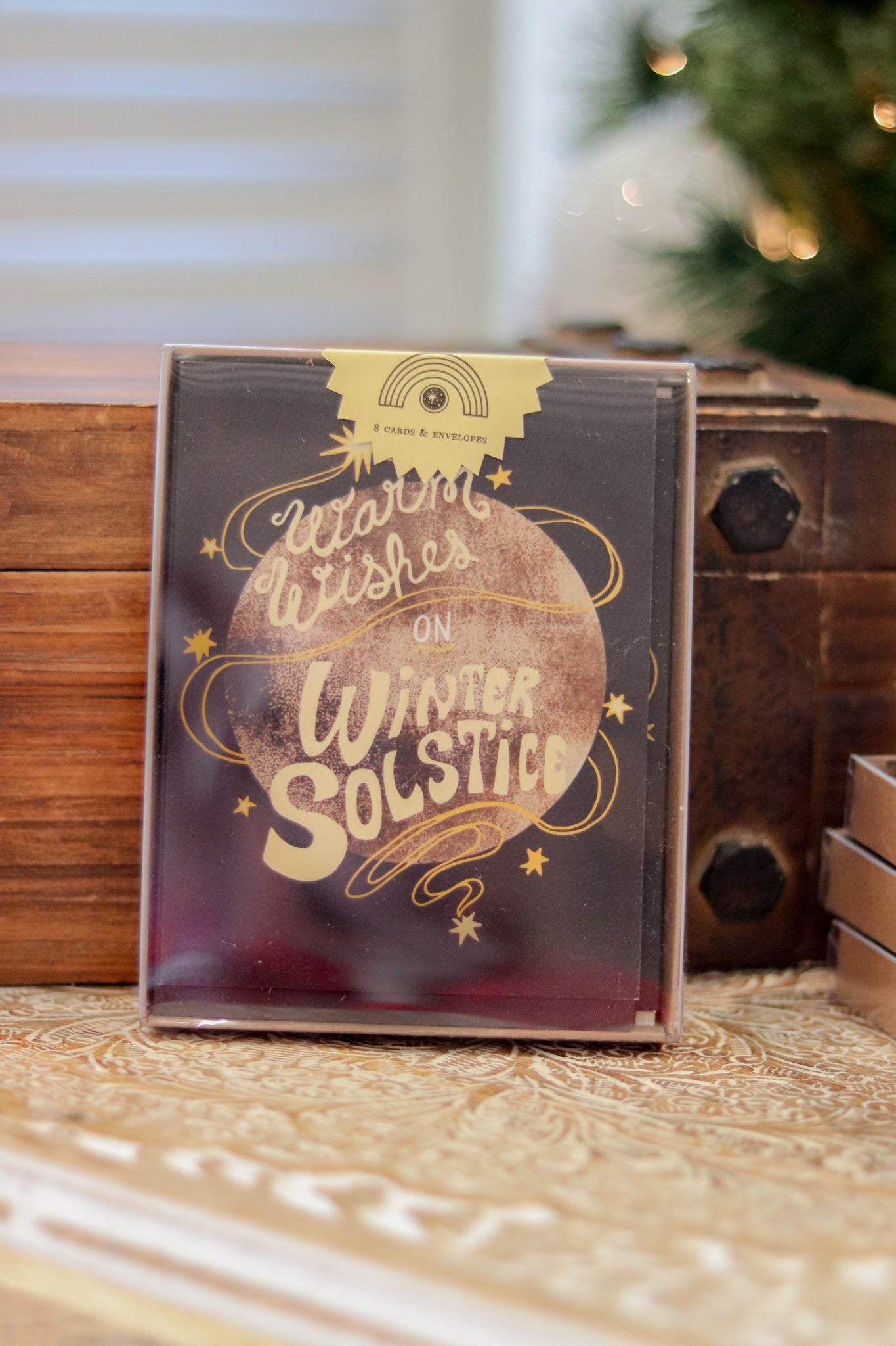 Warm Wishes Solstice Card Set