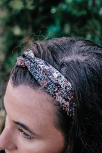 Paisley & Tencel Twist Headband