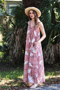 Sanni Print Maxi Dress (Multiple Colors)