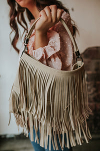 Double Layer Fringe Bag