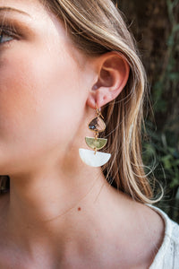 Drop Wedge Earring