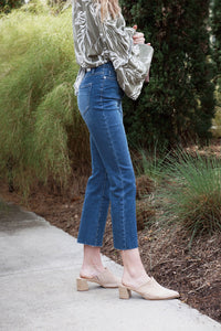 Ankle Flare Denim (Multiple Colors)