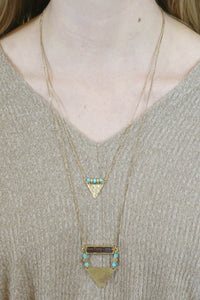 Double Layer Turquoise Necklace