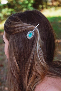 Western Scallop Hair Pin