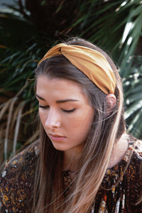 Satin Twist Headband (Multiple Colors)