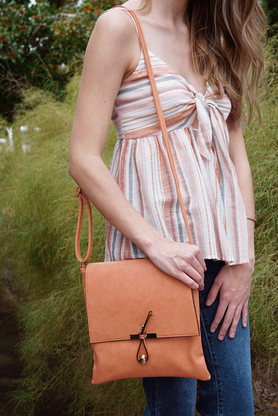 Flap & Loop Crossbody