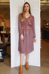 Jackson Embroidered Dress