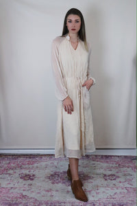 Peasant Maxi Dress