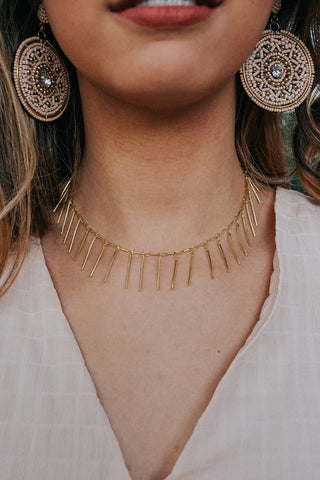 Long Bar Choker