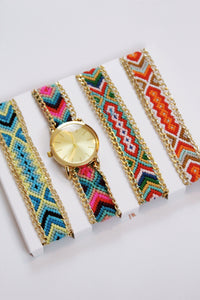 Multi Woven Watch