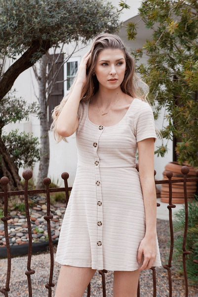 Tanna Button Dress