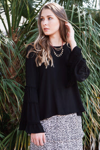Batavia Bell Sleeve Top