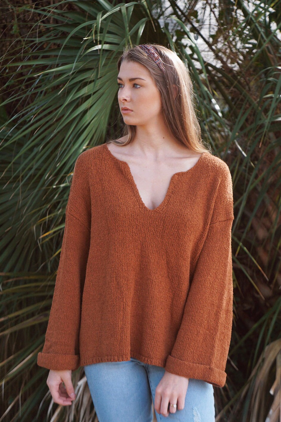 Sandra V-Neck Knit