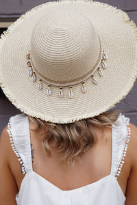 Seashell Fray Hat