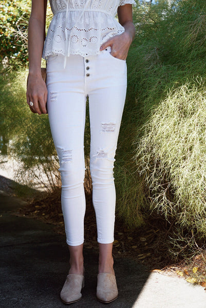 Highwaist Button Pants