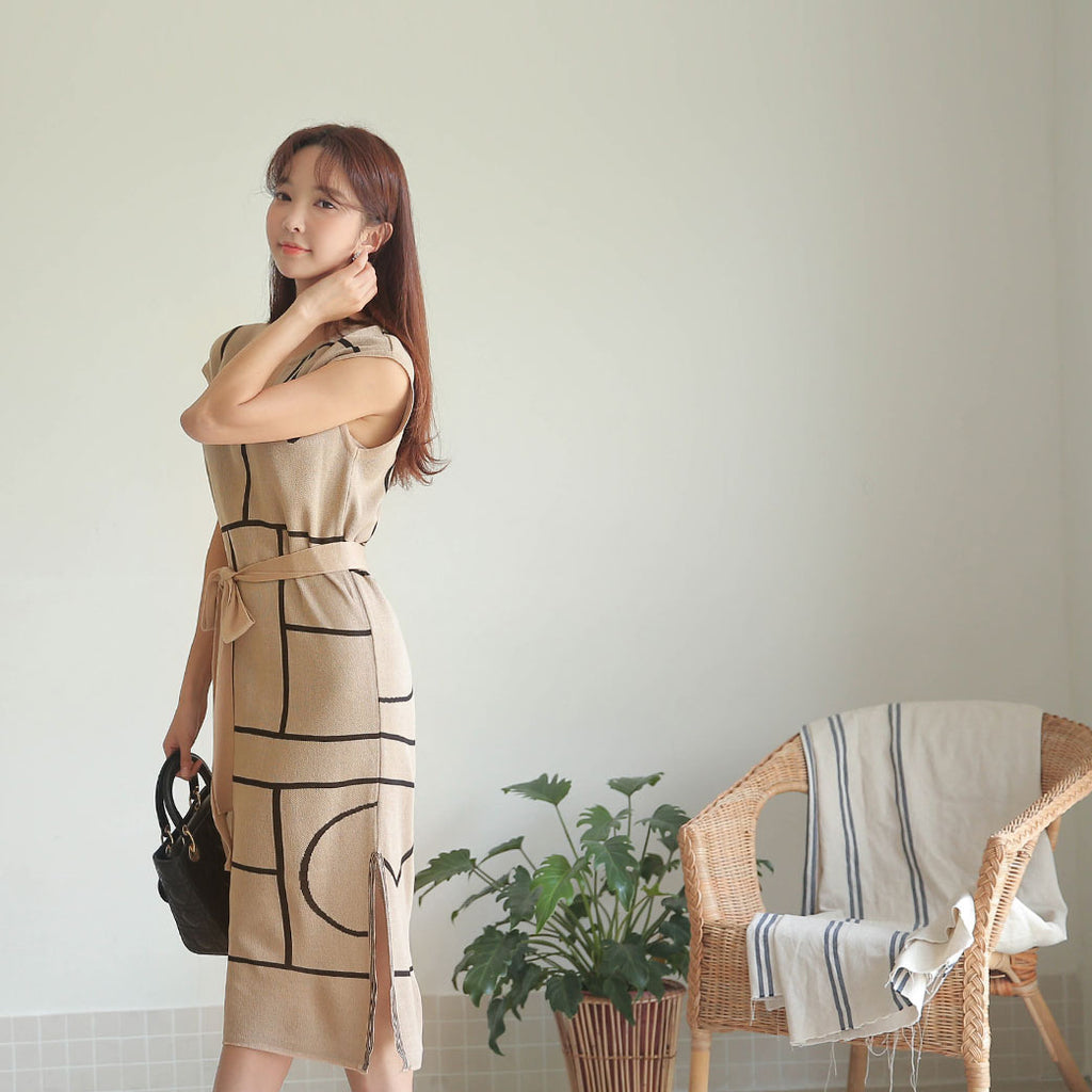 Eleni dress (Cool knit)