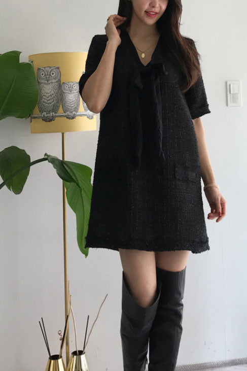 Nara tweed dress