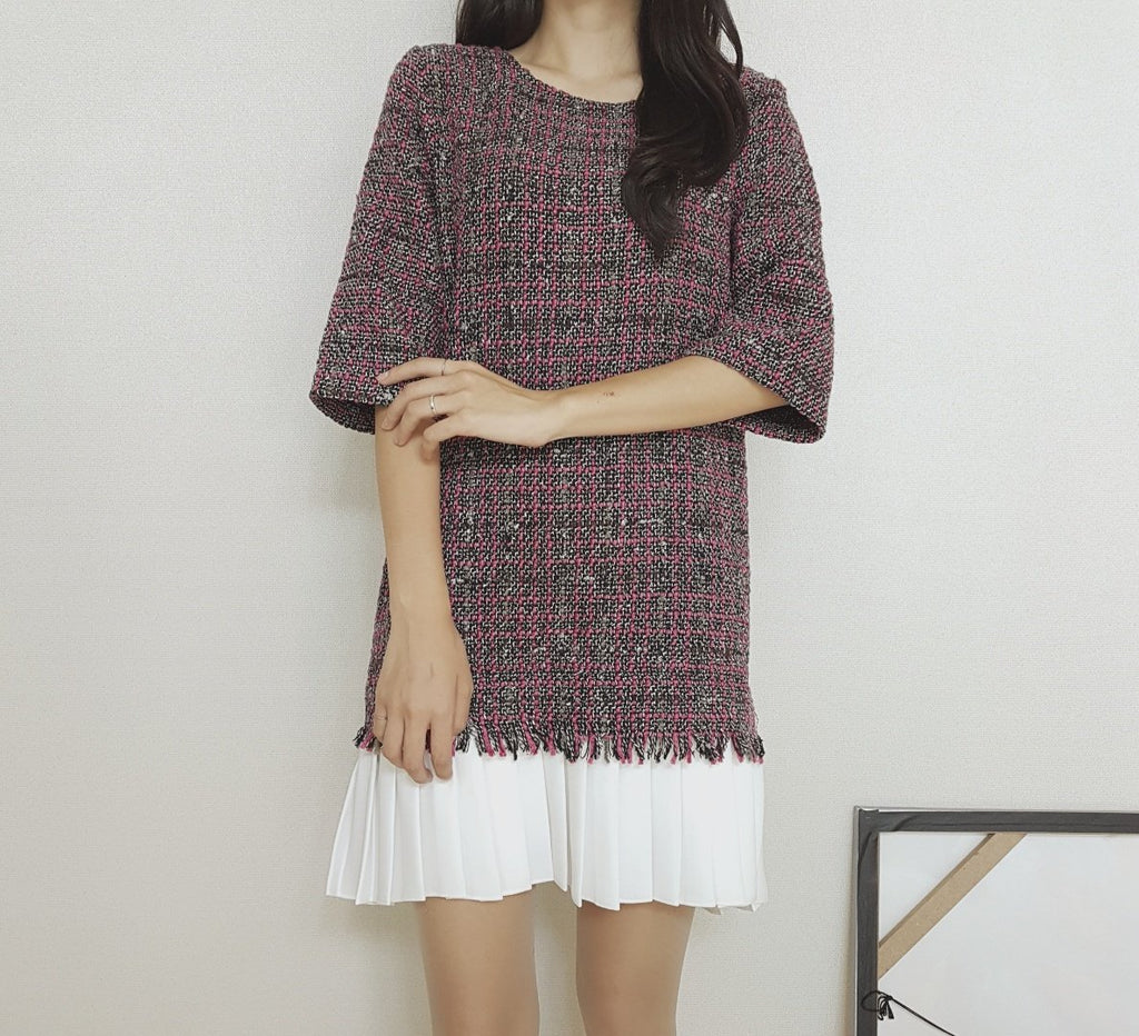 Gigi tweed dress