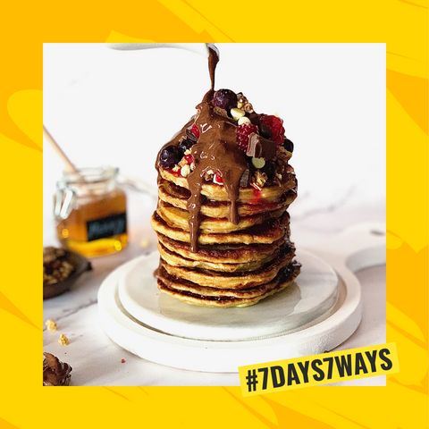 Golden Syrup Pancakes