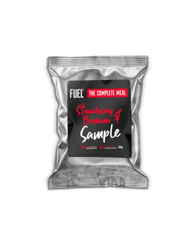 Strawberry & Banana Complete Meal Sample (1x 50g)