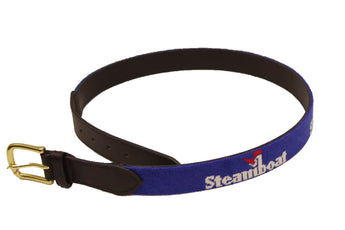 Hand Made Official Steamboat Logo Belt