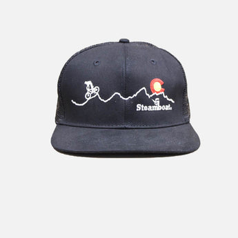 Steamboat Biker Ball Cap