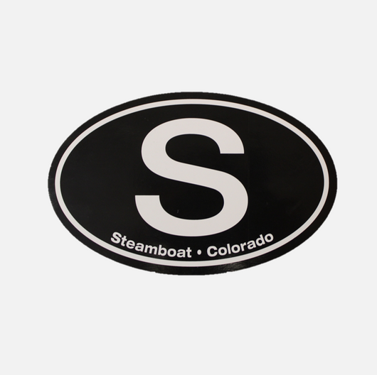 Steamboat Destination Sticker