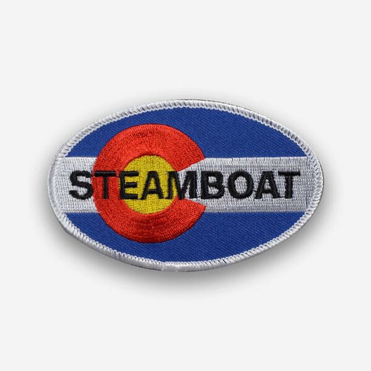 Steamboat Iron-on Patch
