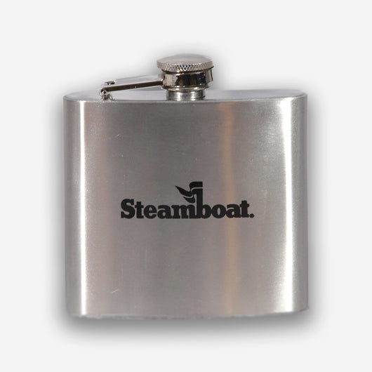 Offical Steamboat Logo Flask