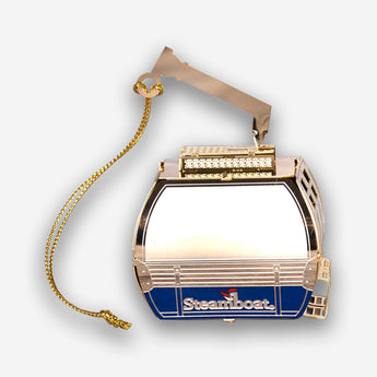 3D 24 karat Gold Gondola Ornament