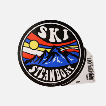 Ski Steamboat Sticker