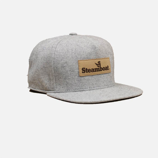 Chambray Flat Brim Official Logo Hat