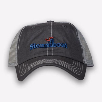 Miller Mesh Official Steamboat Logo Hat