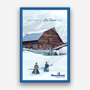 Happy Trails Barn Poster