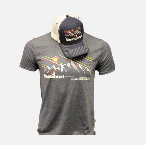 Steamboat Tee Hat Combo