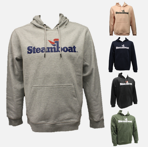 Official Steamboat Logo Hoodie